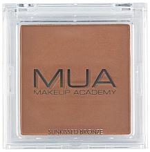 Fragrances, Perfumes, Cosmetics Face Bronzer - MUA Bronzer Sunkissed Bronze