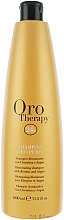 Fragrances, Perfumes, Cosmetics Moisturizing Gold Shampoo - Fanola Oro Therapy Shampoo Oro Puro