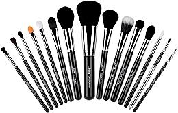 Fragrances, Perfumes, Cosmetics Makeup Brush Set, T092, 15pcs - Jessup