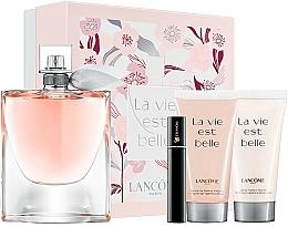 Fragrances, Perfumes, Cosmetics Lancome La Vie Est Belle - Set (edp/100ml + b/lot/50ml + sh/gel/50ml + mascara/2ml)