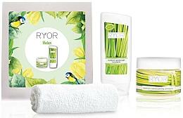 Fragrances, Perfumes, Cosmetics Set - Ryor Cosmetic Set For Men (sh/gel/200ml+peel/325ml+towel)