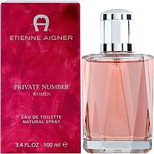Fragrances, Perfumes, Cosmetics Etienne Aigner Private Number Women - Eau de Toilette