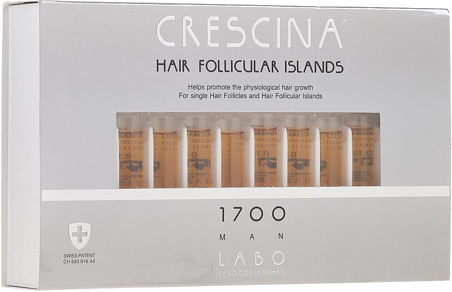Men Hair Growth Stimulating Lotion 1700 - Crescina Hair Follicular Islands Re-Growth 1700