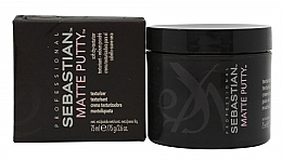 Fragrances, Perfumes, Cosmetics Soft Matte Putty - Sebastian Professional Matte Putty
