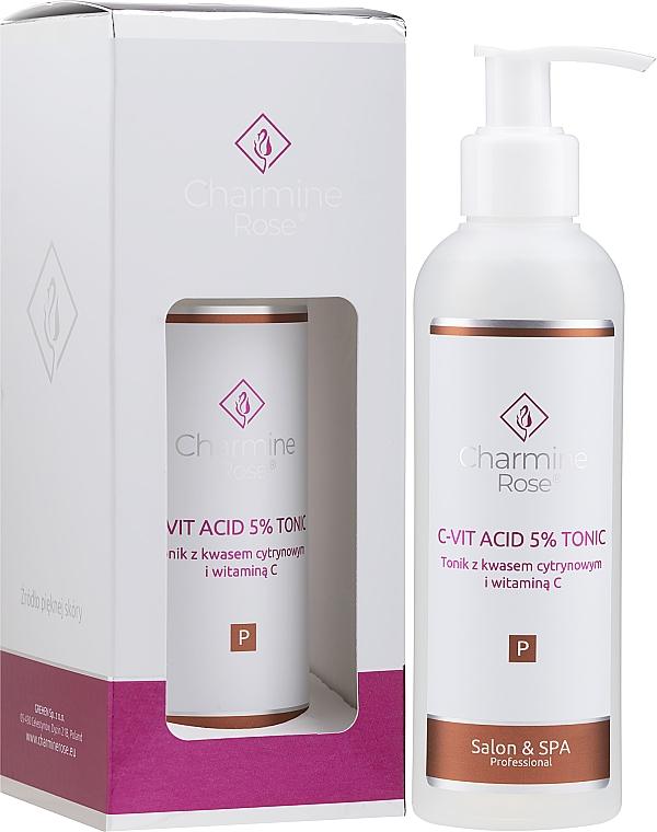 Citric acid and vitamin C Tonic - Charmine Rose C-Vit Acid 5% — photo N2