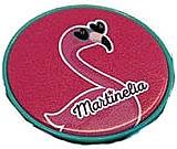 "Fragrances, Perfumes, Cosmetics Pocket Mirror ""Flamingo"" - Martinelia"