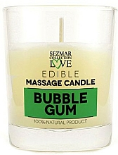 Fragrances, Perfumes, Cosmetics Natural Massage Bubble Gum Candle - Sezmar Collection Bubble Gum