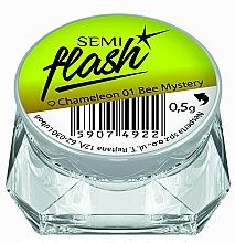 "Fragrances, Perfumes, Cosmetics Nail Mirror Powder ""Chameleon"" - Semilac SemiFlash Chameleon"