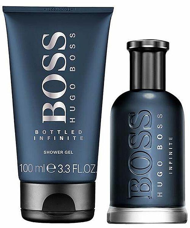 Hugo Boss Boss Bottled Infinite - Set (edp/100ml + sh/gel/100) — photo N2