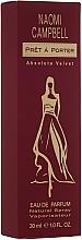 Fragrances, Perfumes, Cosmetics Naomi Campbell Pret a Porter Absolute Velvet - Eau de Parfum