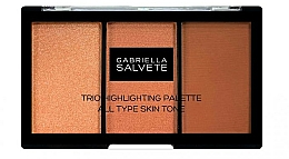 Fragrances, Perfumes, Cosmetics Highlighter Palette - Gabriella Salvete Trio Highlighting Palette