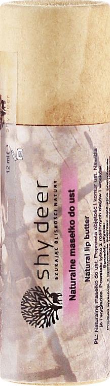Natural Lip Butter - Shy Deer Natural Lip Butter
