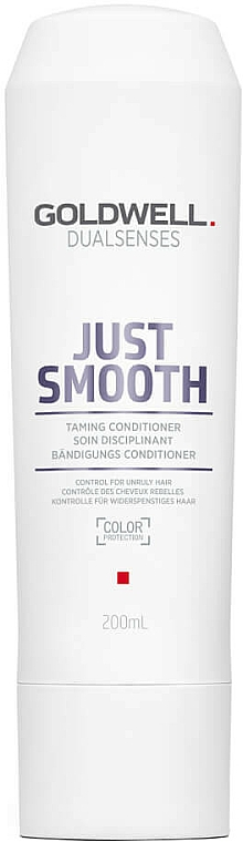 Unruly Hair Conditioner - Goldwell Dualsenses Just Smooth Taming Conditioner