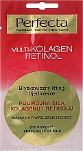 Fragrances, Perfumes, Cosmetics Mask for Face, Neck and Decollete - Perfecta Multi-Kolagen Retinol