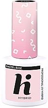 Fragrances, Perfumes, Cosmetics Nail Top Coat - Hi Hybrid Pastel Base