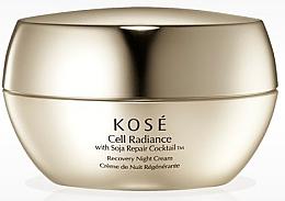Fragrances, Perfumes, Cosmetics Revitalizing Night Face Cream - KOSE Soja Repair Cocktail Cell Radiance Recovery Night Cream