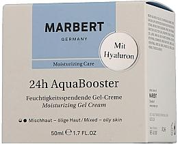 Fragrances, Perfumes, Cosmetics Oily Skin Moisturizing Cream - Marbert 24h Aquabooster Moisturizing Gel Cream Combination Skin-Oily Skin