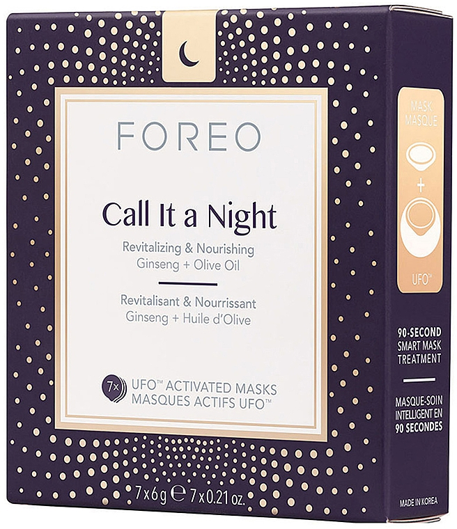 Repair Night Face Mask - Foreo Ufo Call It a Night Mask