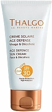 Fragrances, Perfumes, Cosmetics Age Defence Sun Cream - Thalgo Age Defence Sun Cream SPF 30