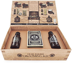 Fragrances, Perfumes, Cosmetics Dear Barber Collection II Groom & Go - Set (beard/oil/30ml + wax/25ml + edt/30ml)