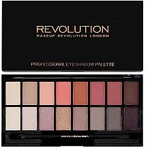 Fragrances, Perfumes, Cosmetics Eyeshadow Palette, 16 shades - Makeup Revolution Profesional Eyeshadow Palette