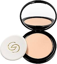 Fragrances, Perfumes, Cosmetics Pressed Face Powder - Oriflame Giordani Gold Powder
