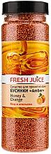 Fragrances, Perfumes, Cosmetics Bath Beads - Fresh Juice Bath Bijou Amber Honey and Orange