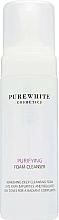 Fragrances, Perfumes, Cosmetics Cleansing Foam - Pure White Cosmetics Purifying Foam Cleanser