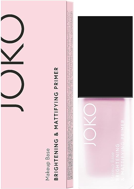Makeup Primer - Joko Brightening & Mattifying Primer