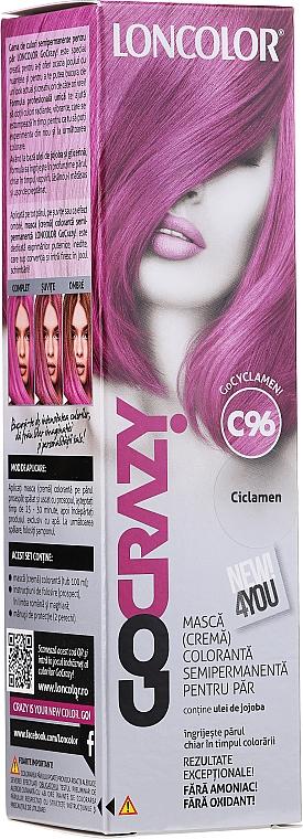 Semi-Permanent Hair Cream Color - Loncolor GoCRAZY!
