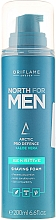 Fragrances, Perfumes, Cosmetics Shaving Foam for Sensitive Skin - Oriflame North For Men Sensitive Shaving Foam