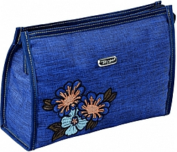 "Fragrances, Perfumes, Cosmetics Makeup Bag ""Soft"", 96006, dark blue - Top Choice"