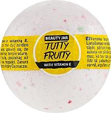 Fragrances, Perfumes, Cosmetics Bath Bomb with Vitamin E - Beauty Jar Tutty Fruity
