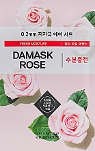 Fragrances, Perfumes, Cosmetics Ultra Thin Damask Rose Face Mask - Etude House Therapy Air Mask Damask Rose