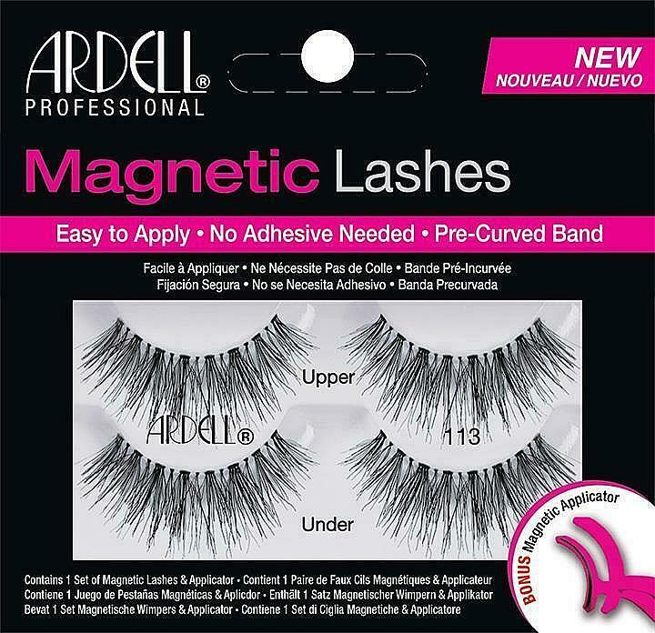 False Lashes - Ardell Magnetic Strip Lashes 113