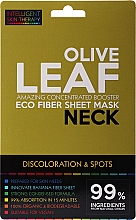 Fragrances, Perfumes, Cosmetics Express Neck Mask - Beauty Face IST Booster Neck Mask Olive Leaf