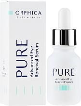 Fragrances, Perfumes, Cosmetics Eye Serum - Orphica Pure Advanced Eye Renewal Serum