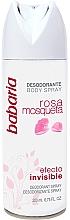 Fragrances, Perfumes, Cosmetics Deodorant Spray - Babaria Rose Hip Invisible Effect Deodorant Spray
