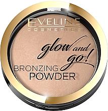 Fragrances, Perfumes, Cosmetics Bronzing Powder - Eveline Cosmetics Glow & Go Bronzing Powder