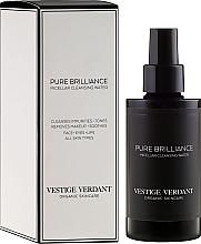 Fragrances, Perfumes, Cosmetics Micellar Water - Vestige Verdant Pure Brilliance Micellar Cleansing Water