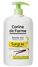"Fragrances, Perfumes, Cosmetics Shower Cream ""Vanilla"" - Corine De Farme Shower Cream"