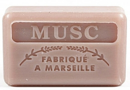 "Fragrances, Perfumes, Cosmetics Marseilles Soap ""Musk"" - Foufour Savonnette Marseillaise Musc"