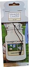 Fragrances, Perfumes, Cosmetics Car Air Freshener - Yankee Candle Car Jar Clean Cotton