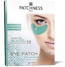 Fragrances, Perfumes, Cosmetics Aloe Vera Eye Patches - Patchness Eye Patch Aloe