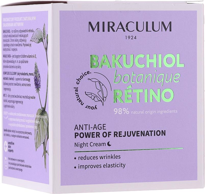 Facial Night Cream - Miraculum Bakuchiol Botanique Retino Anti-Age Cream