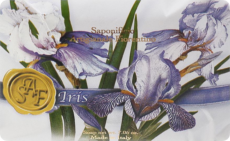 """Toilet Soap """"Iris"""" - Saponificio Fiorentino Primavera Irys"""