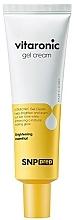 Fragrances, Perfumes, Cosmetics Radiance Gel Cream with Vitamin C - SNP Prep Vitaronic Gel Cream