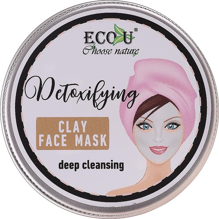 Deep Cleansing Face Mask - Eco U Detoxifying Deep Cleansing Clay Face Mask