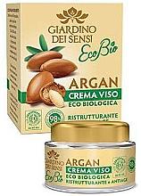 Fragrances, Perfumes, Cosmetics Face Cream - Giardino Dei Sensi Eco Bio Argan Face Cream