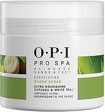 Fragrances, Perfumes, Cosmetics Exfoliating Sugar Scrub - O.P.I ProSpa Skin Care Hands&Feet Exfoliating Sugar Scrub